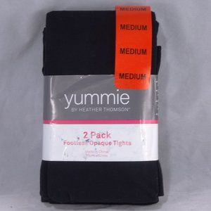 Yummie by Heather Thomson Footless Opaque Tights